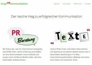 PR-Agentur kropf kommunikation Wien
